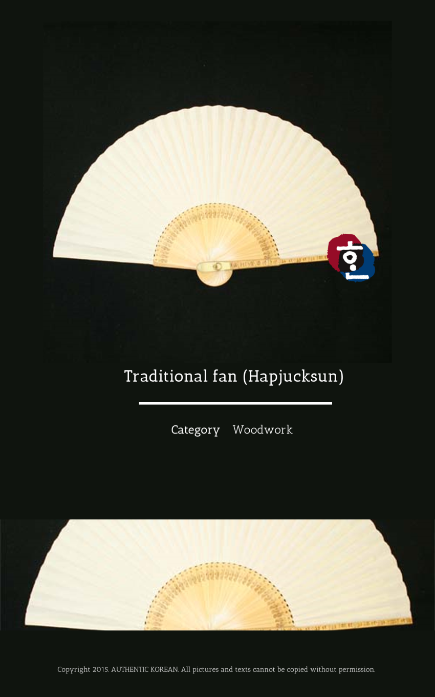 5-1 Traditional fan (Hapjucksun)