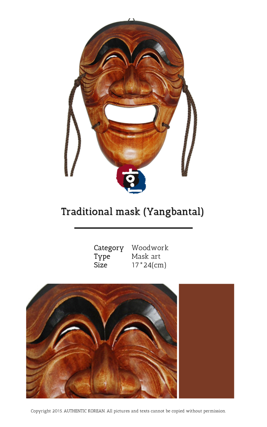 6-1 Traditional mask